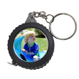 Personalised Measuring Tape Keychain